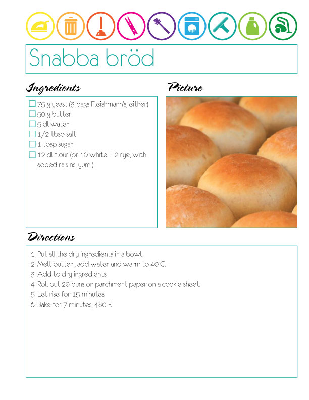 Recipe-bread