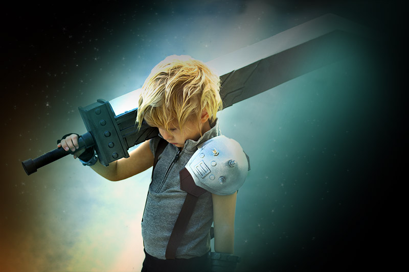 Nicolas aka Cloud från Final Fantasy VII